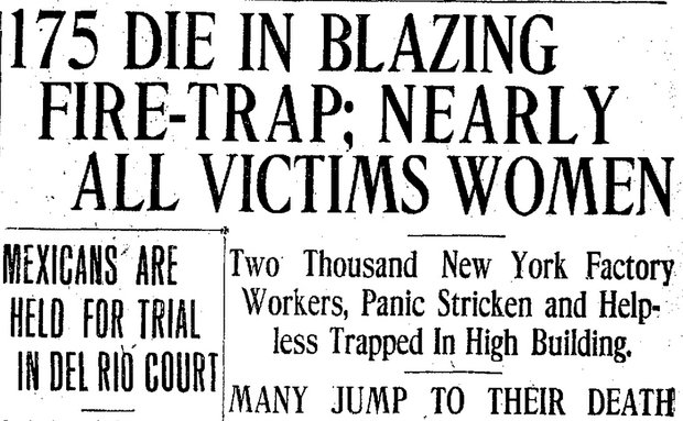 Triangle shirtwaist fire   research paper by omayra1