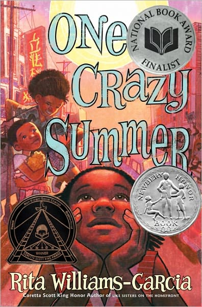 Children S Book Covers Without Titles : Summer week review one crazy by rita williams