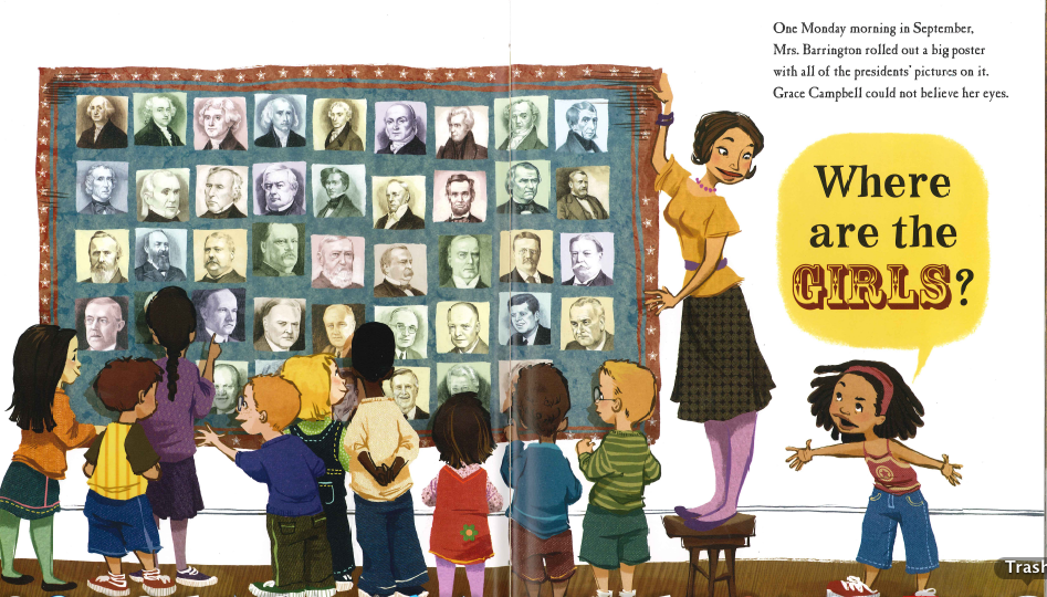 Election Week Review: Grace for President by Kelly DiPucchio and ...